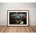 """Large Size 24""""x32"""" Star Club Hamburg Germany Poster - Early Beatles"""
