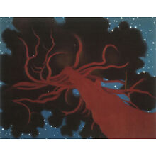 The Lawrence Tree by Georgia O'Keeffe   Paper Print Repro