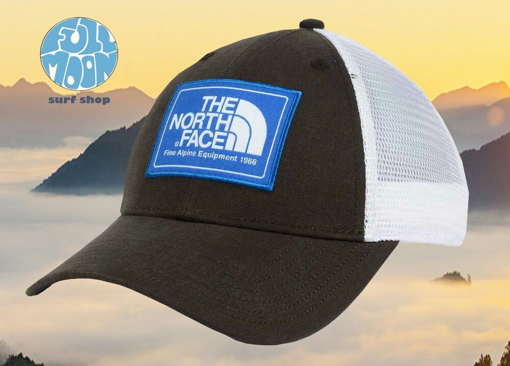 Details about New The North Face Mudder Brown Mens Snapback Trucker Hat 04afc98d670c