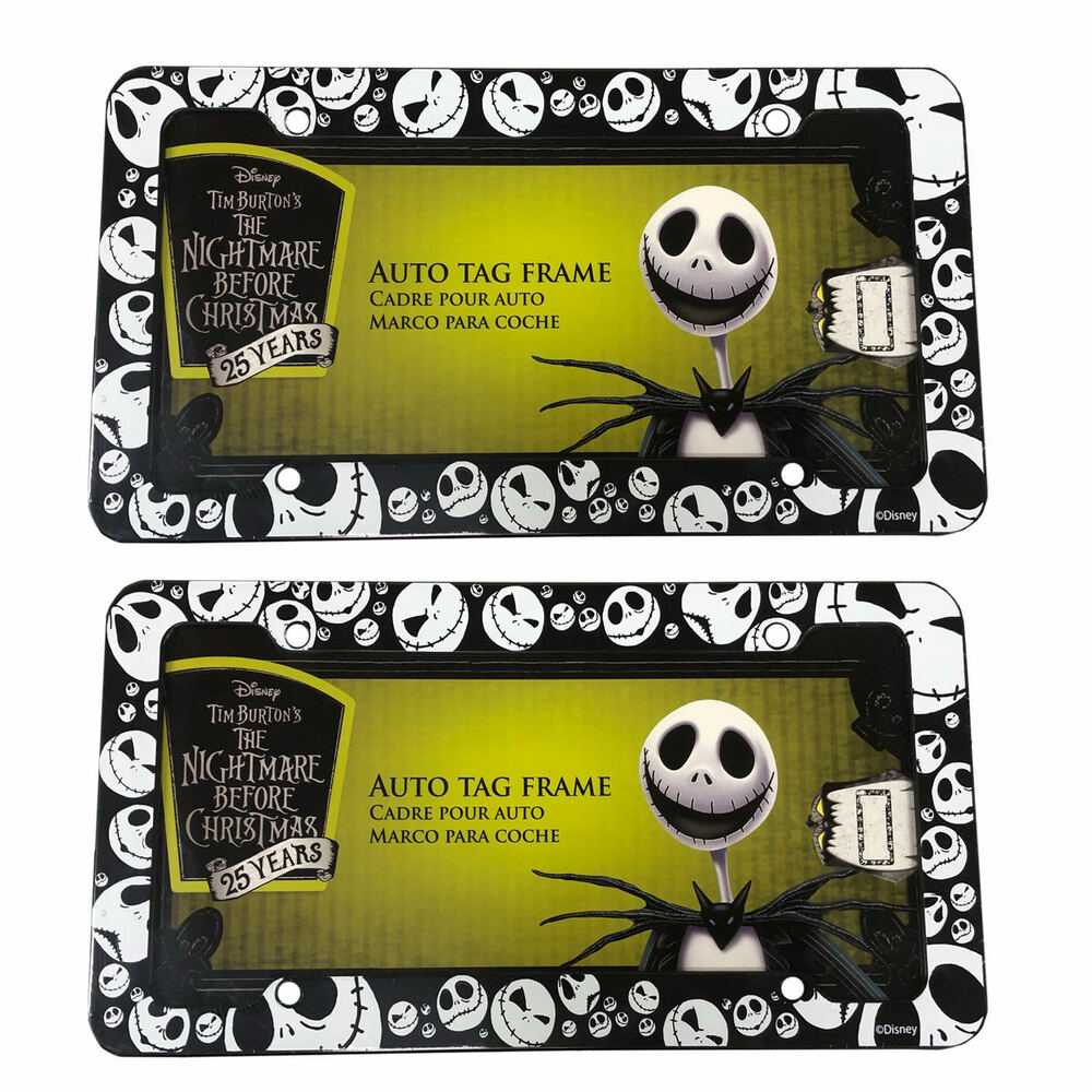 Disney Nightmare Before Christmas Jack Skellington Plastic Plate ...
