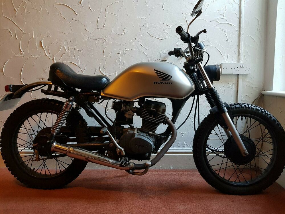honda cg 125 custom motorcycle street scrambler cafe. Black Bedroom Furniture Sets. Home Design Ideas