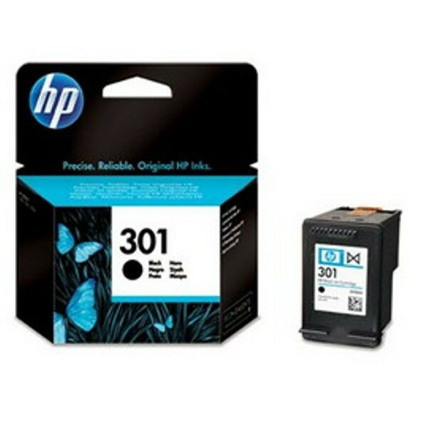 CARTUCCIA A GETTO D'INCHIOSTRO HP 301 NERO CH561EE