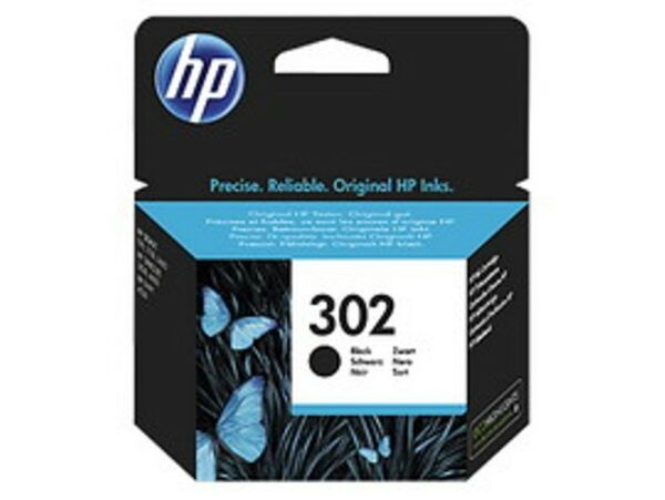CARTUCCIA HP INCHIOSTRO NERO HP 302 F6U66AE