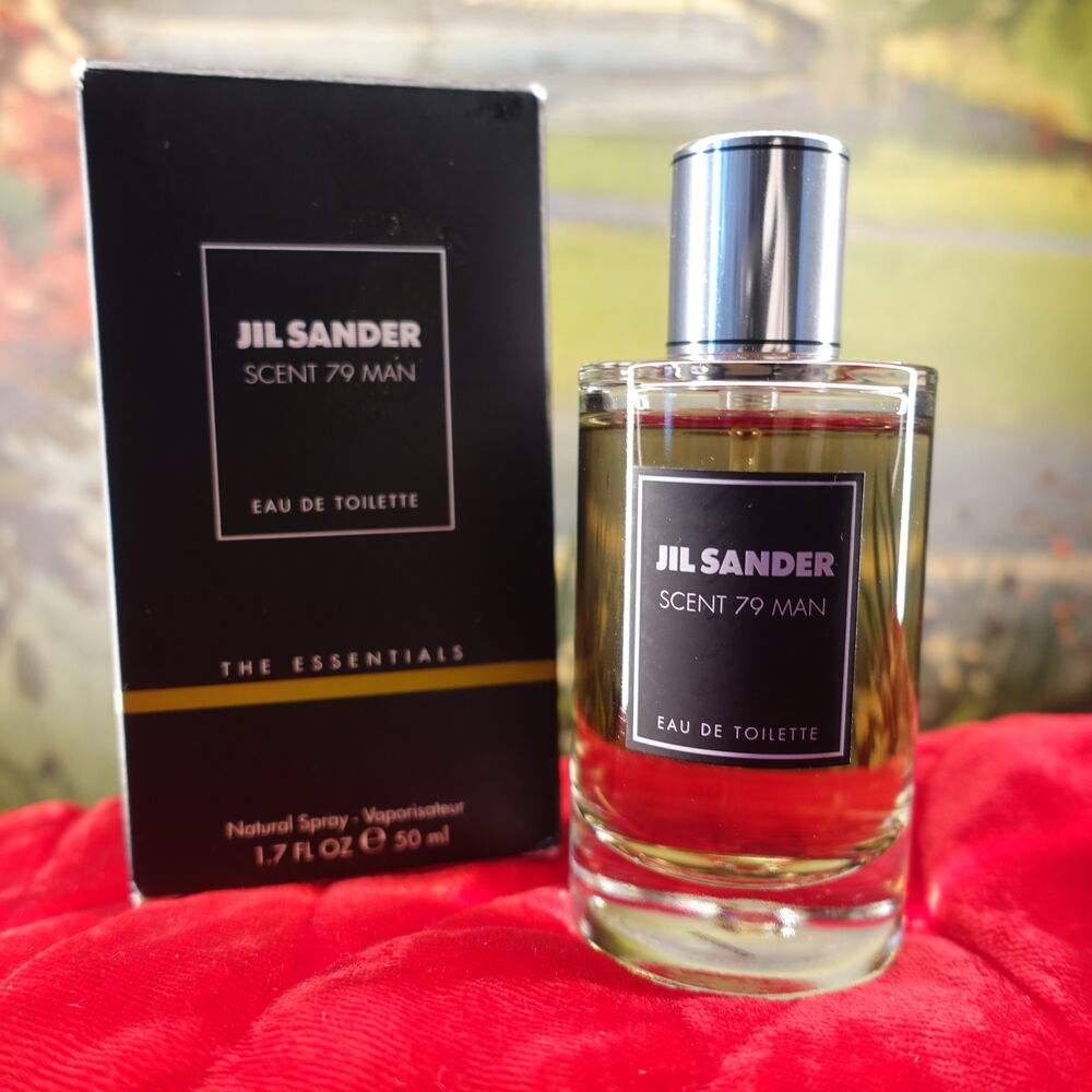 Scent 79 Man Jil Sander 1 7 Oz 50 Ml Classic Mens Fragrance Vintage