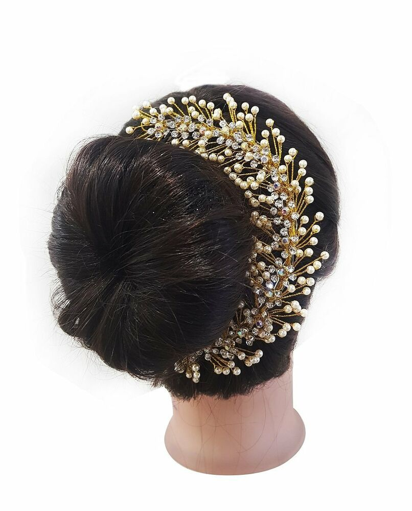 Baal Hair Gajra Juda Accessories For Wedding Girls And Party Ware Ebay