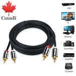 192KHZ Coaxial Optical Toslink Digital to Analog Audio Converter Adapter RCA CA