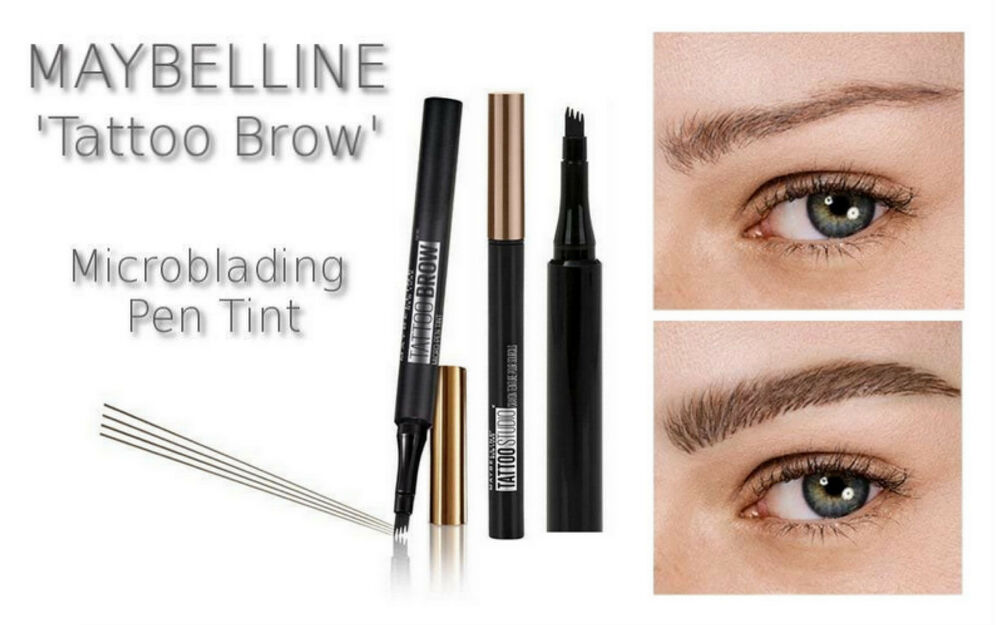Maybelline tattoo brow microblading eyebrow definer micro for Tattoo eyebrow tint