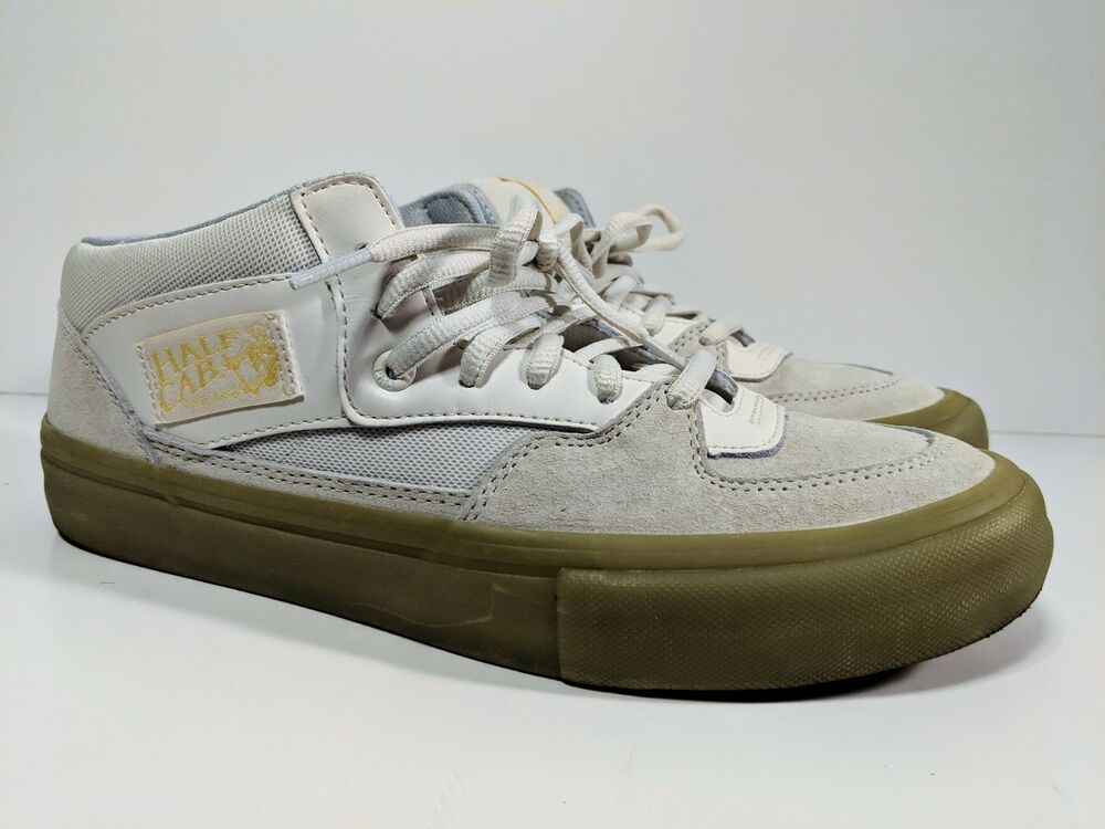 530dbc1a2f Vans Half Cab Pro Pyramid Country Size 8.5 Glow In The Dark VN0A38CPP9Q  White