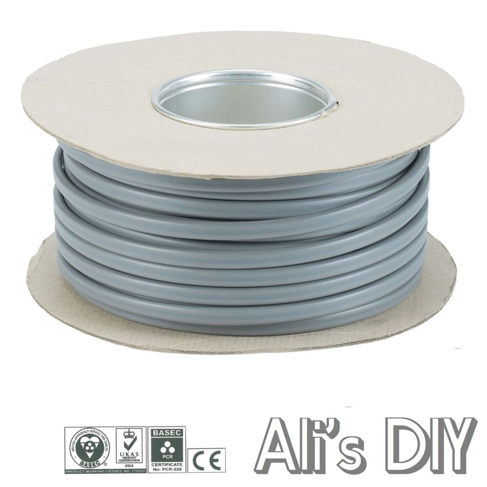 3 Core And Earth Grey High Quality Electrical cable 6243Y All ...