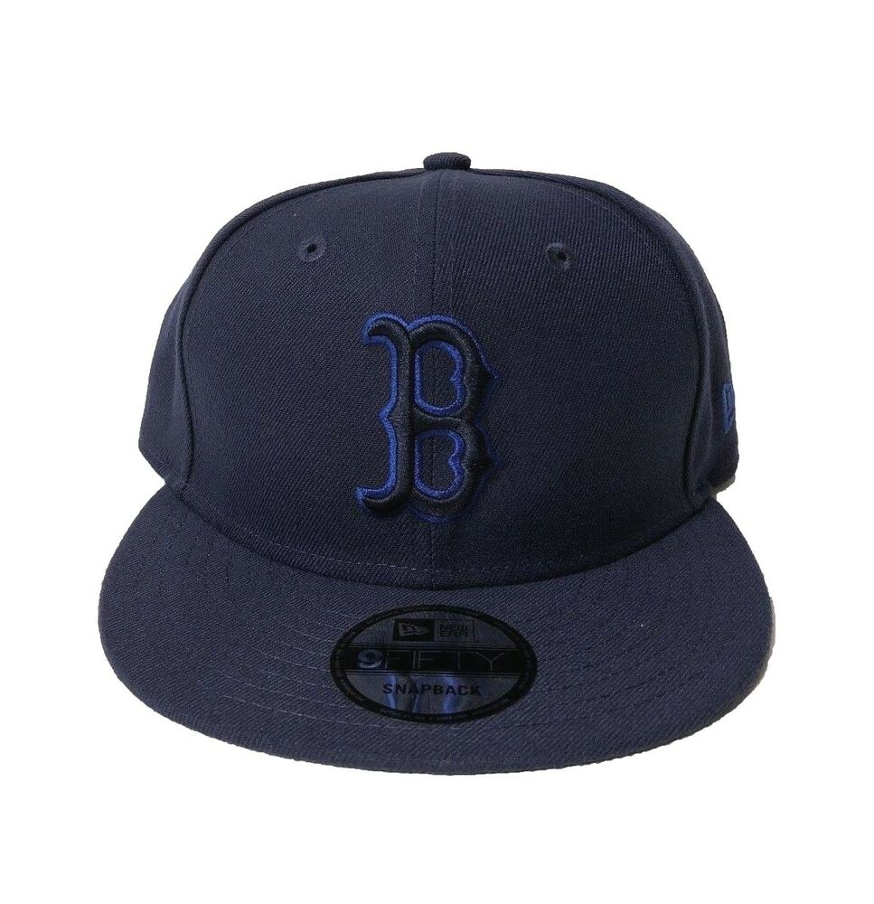 5744ef131c526 Details about New Era Boston Red Sox League Pop Light Navy 9FIFTY Snapback  Adjustable Hat MLB