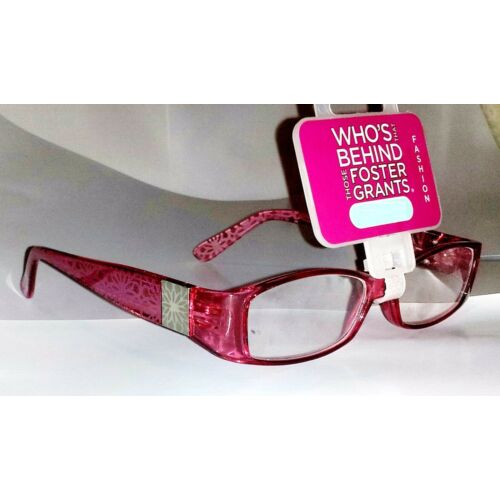 foster-grant-posh-womens-reading-glasses-plum-red-200-strength-spring-hinges