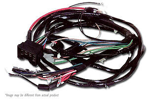1970 1971 chevy nova engine and front light wiring harness kit hei rh ebay com 1970 Nova Wiring Diagram 1970 nova tail light wiring harness