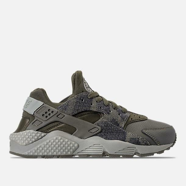 9aa7c04aad43 Details about NIKE WMNS AIR HUARACHE RUN PRM 683818 302 CARGO KHAKI  GREEN DARK STUCCO - SNAKE