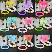 Fashion Colorful Jewelry Boys Girls Princess Beads Necklace Kids Baby Toddlers