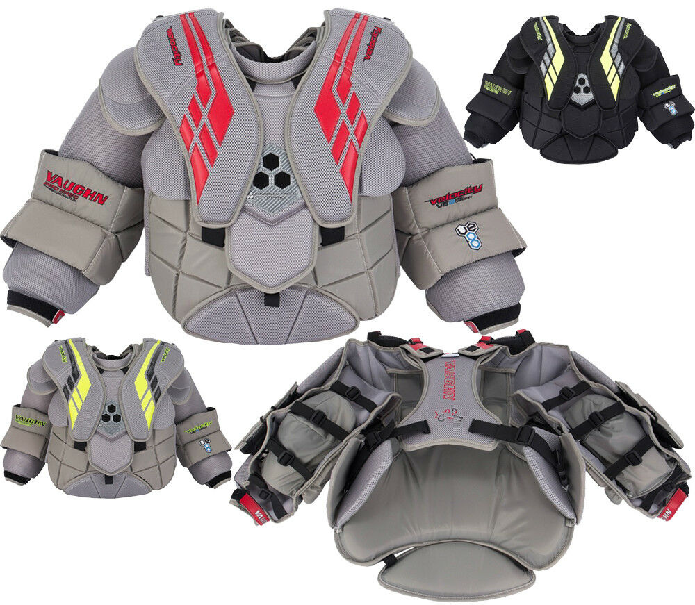 952e3bc68da Vaughn Velocity VE8 Pro Carbon Chest   Arm Protector - Sr