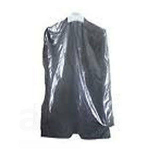 4c968e985e75 Details about CLEAR POLYTHENE PLASTIC GARMENT COVERS FILM DRY CLEANERS BAGS  CLOTHES BAGS