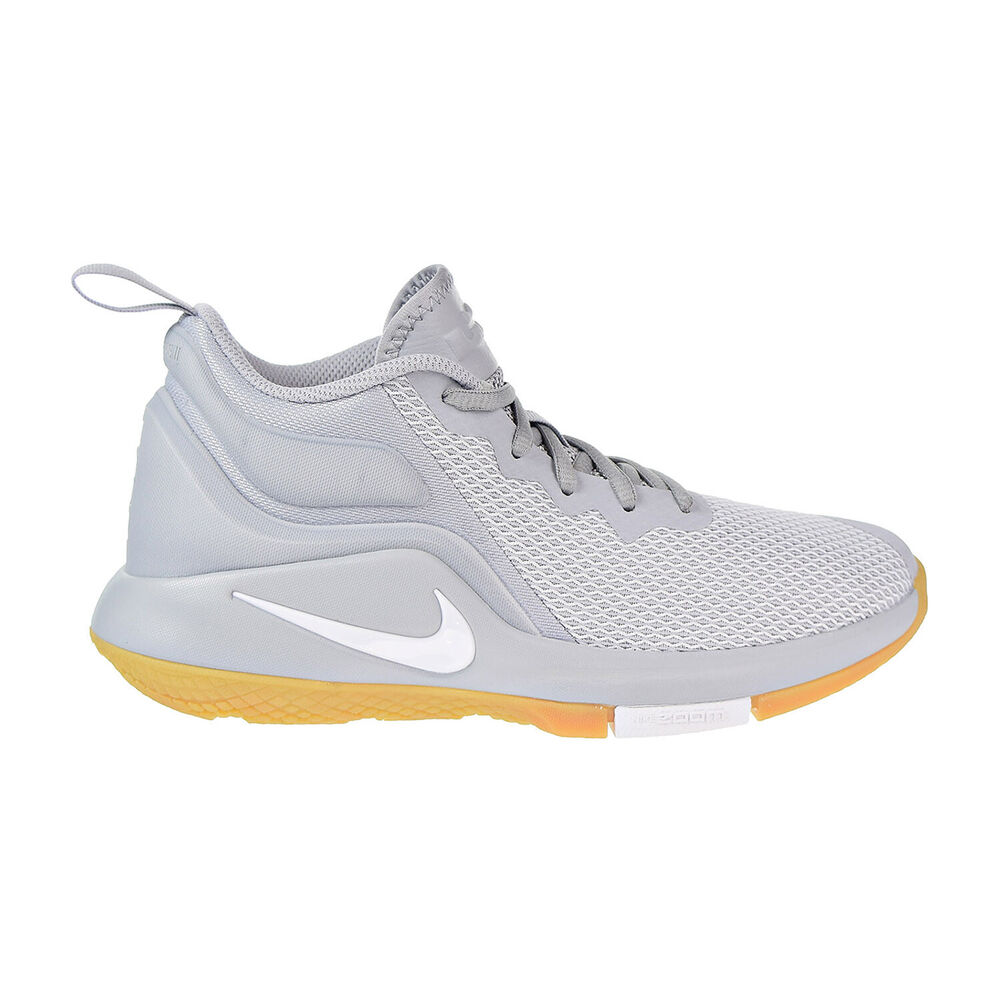 new style 68dd8 ccf40 Details about Nike LeBron Witness II Big Kid s Running Shoes Wolf  Grey White 922887-012