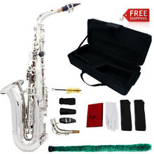 Brand New Alto Eb Saxophone Sax with Case Mouthpiece Reeds Accessories USA