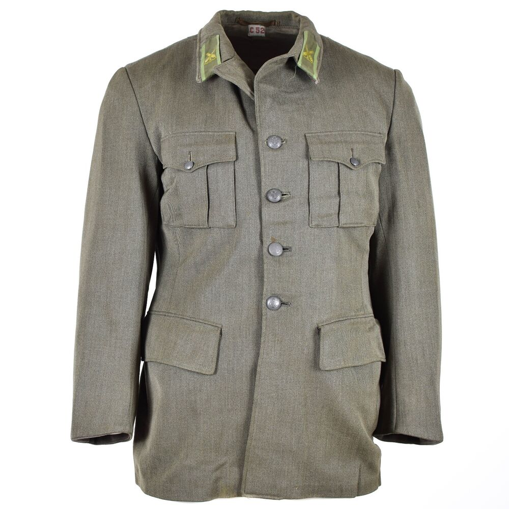 9a7104b003d Details about Genuine Vintage Swedish army wool uniform jacket M39 marines  military navy grey