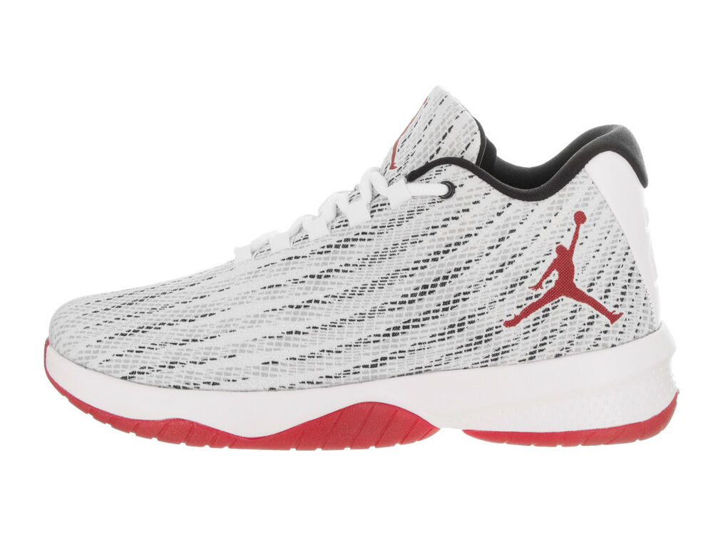 0912435b32f Details about Air Jordan Men s B. FLY Shoes White Gym Red Black 881444-101 b