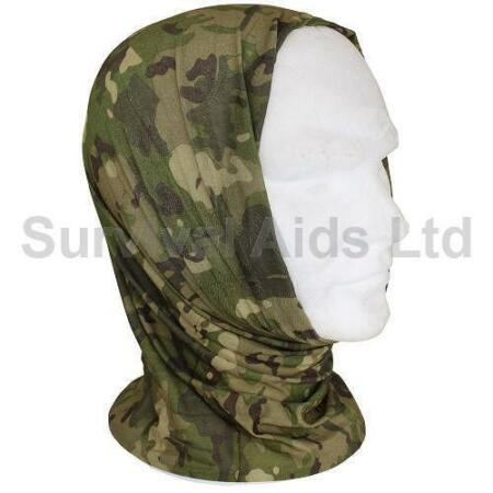 img-Mil-Tec Multi-Function Tactical Head Scarf, Multi-Terrain
