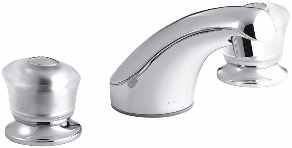 Kohler coralais widespread bathroom lavatory faucet k 15265 7 cp polished chrome 87206545696 ebay for Kohler coralais bathroom faucet