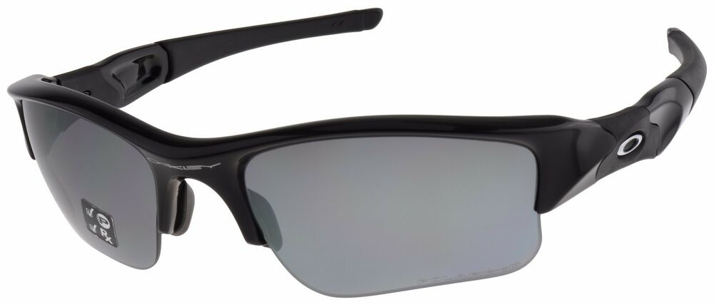 52cc2377c3a Details about Oakley Flak Jacket XLJ Sunglasses 12-903 Jet Black