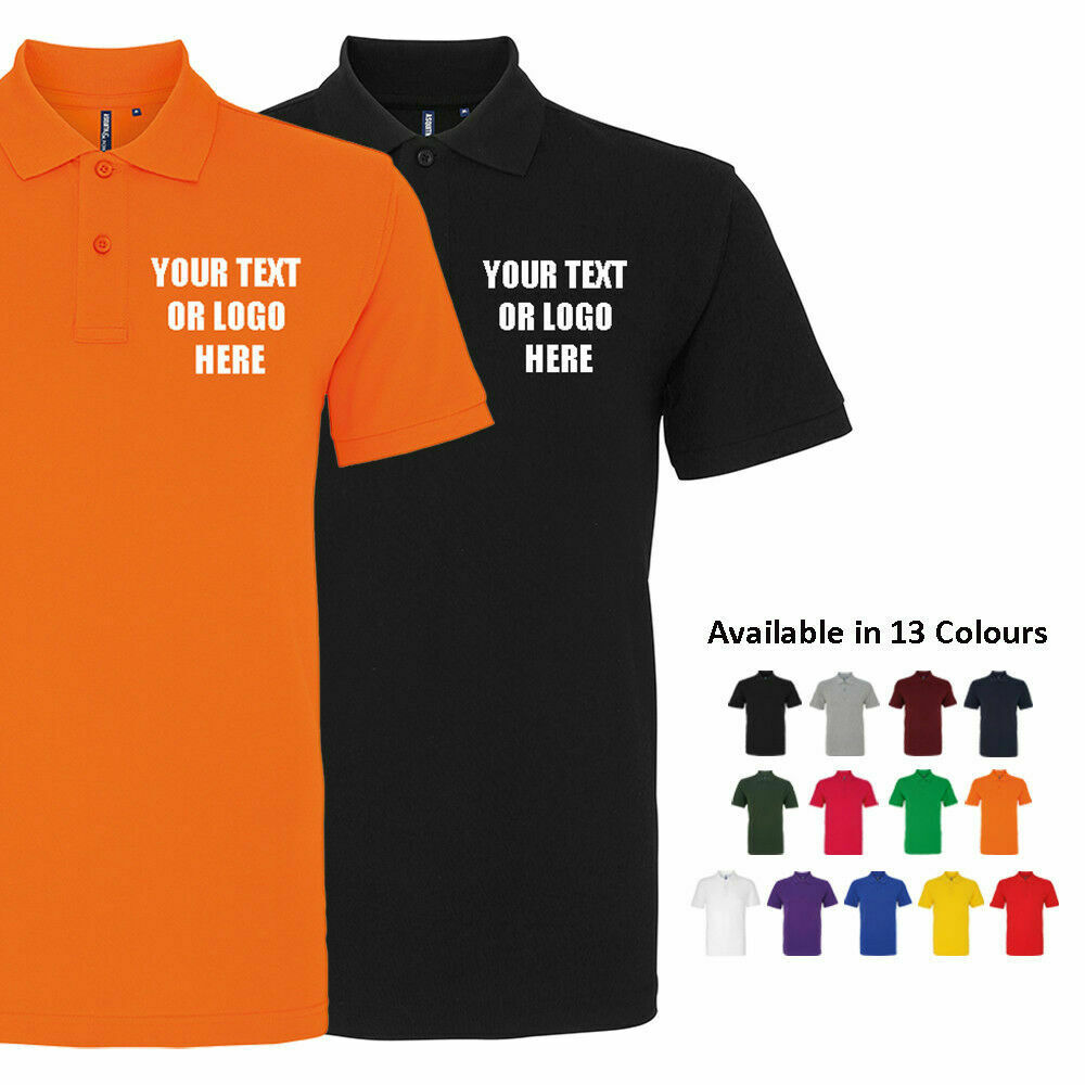 Custom Printed Polo Shirt Personalised Stag Do Workwear Event