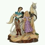 Jim Shore Live Your Dream - Tangled Carved by Heart 4059736 Disney Traditions...
