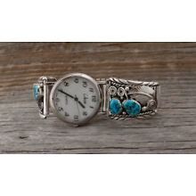 Turquoise Navajo Men's Watch Tips