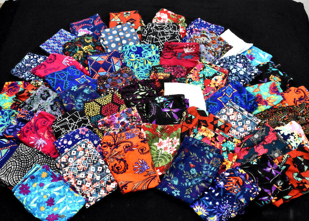 2fe367bb8147fb Details about LuLaRoe Leggings One Size NEW Mystery 3 pair Rare colorful  Prints OS UNICORN LLR