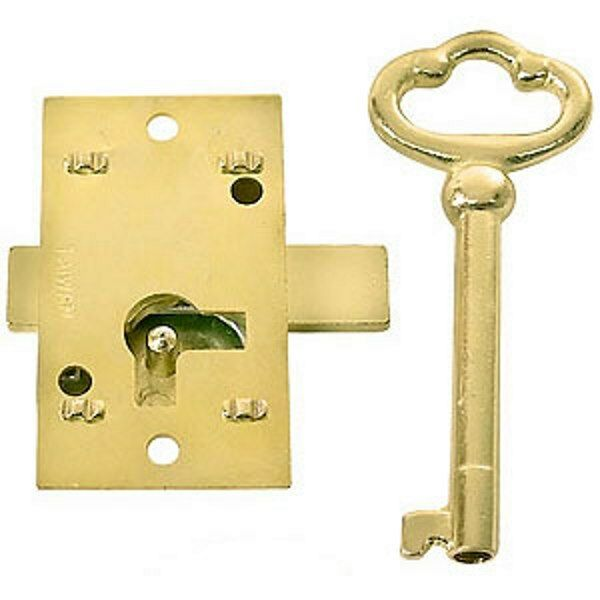 Details About Cabinet Door Lock And Key Curio China Grandfather Clock Jewelry Box