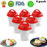 Egg Cooker Egglets Haird Boiled Without Shell Eggs Cooking Cup Eggies Egglettes