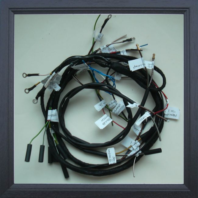 BSA A7 A10 etc 1948-1954 Rigid and plunger models FULL Wiring ...