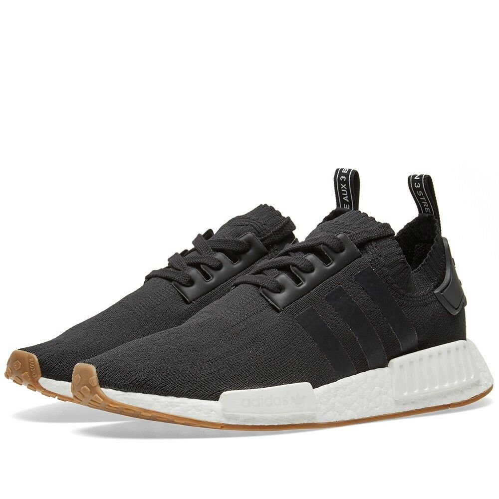 Details about Adidas NMD R1 PK Gum Pack Core Black Primeknit BBA1887 All  Sizes (PTI) e8010493a