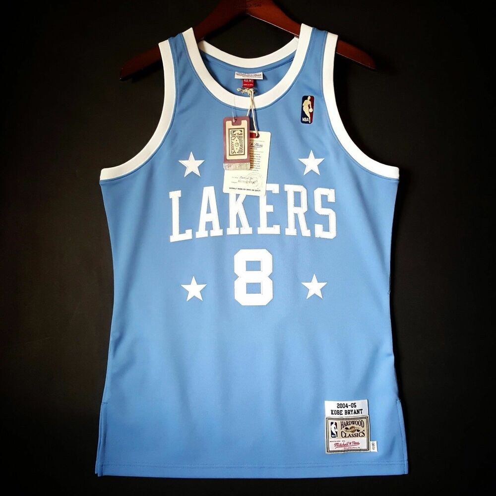 d9d87b47d45 Details about 100% Authentic Kobe Bryant Mitchell   Ness 04 05 Lakers NBA  Jersey Size 40 M