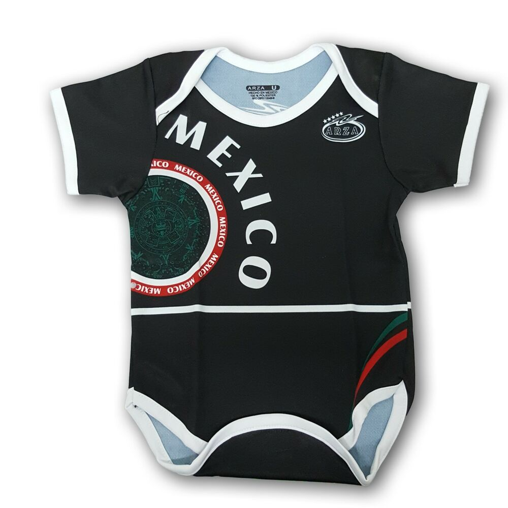 Details about Mexico Soccer Jersey Baby One Piece Jumpsuite Mameluco  Mundial 2018 41ad0000b25