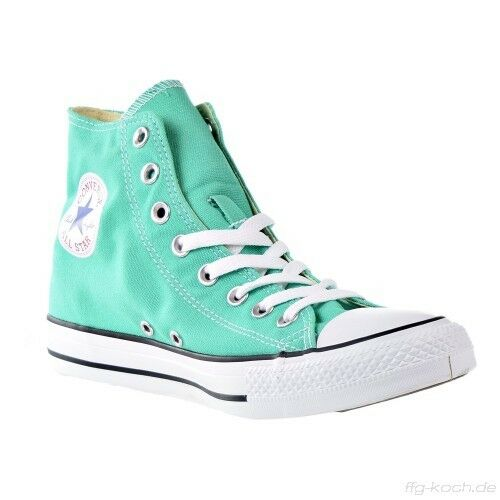 a1a7e79cfdf9 Details about CONVERSE ALL STAR CHUCK TAYLOR HI SEASONAL MEN SHOES GREEN  155740F SIZE 11 NEW
