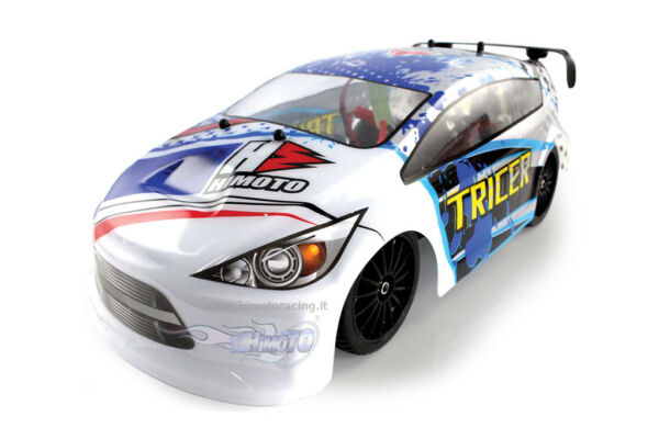 """E18ORL Stradale """"Tricer"""" Brushless 1/18 Himoto 2.4gHz 4WD RTR"""