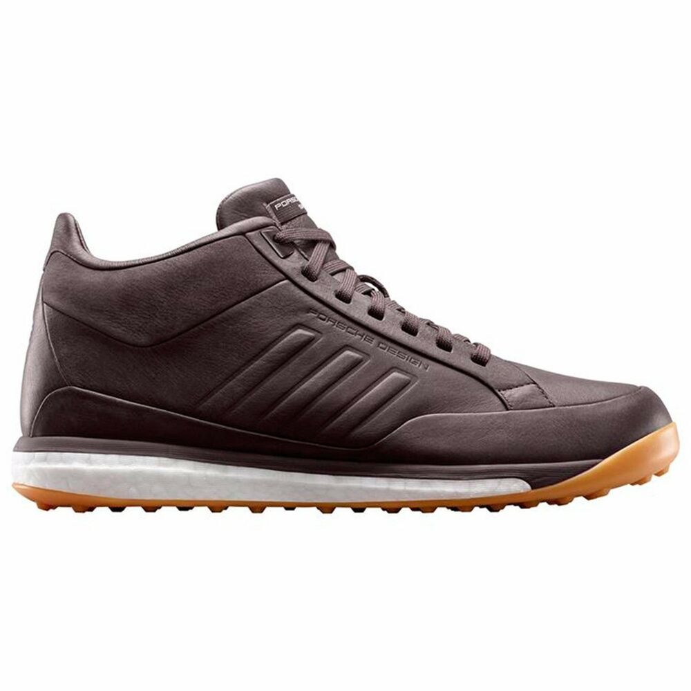 buy online 3b87b 3899a ADIDAS PORSCHE DESIGN SHOES BROWN MENS MID LEATHER BOOST BOUNCE B34162 8.5  UK8   eBay