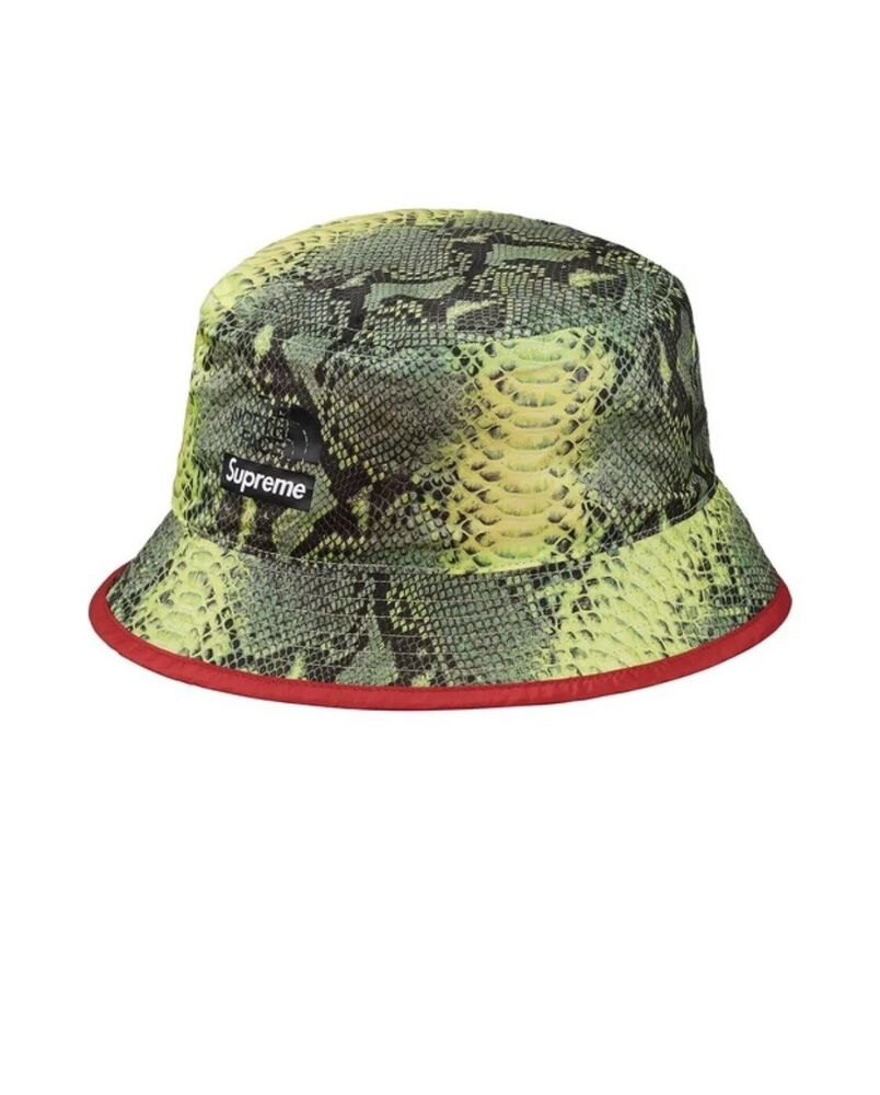 72e8c447c33 Details about Supreme The North Face Snakeskin Reversible Crusher Bucket  Hat Size L XL