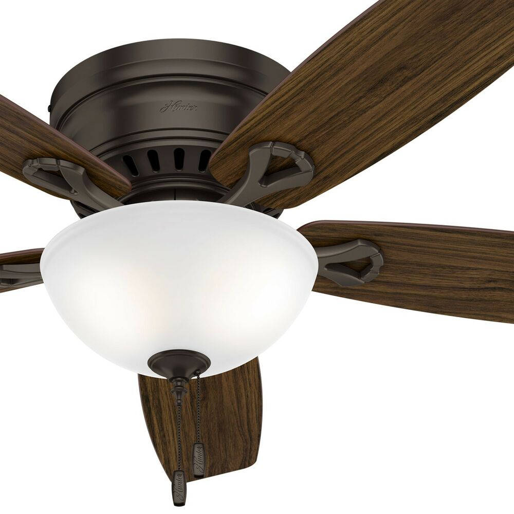 Hunter Low Profile 52 Led Ceiling Fan At Menards: Hunter Fan 52 Inch Low Profile Ceiling Fan In Premier