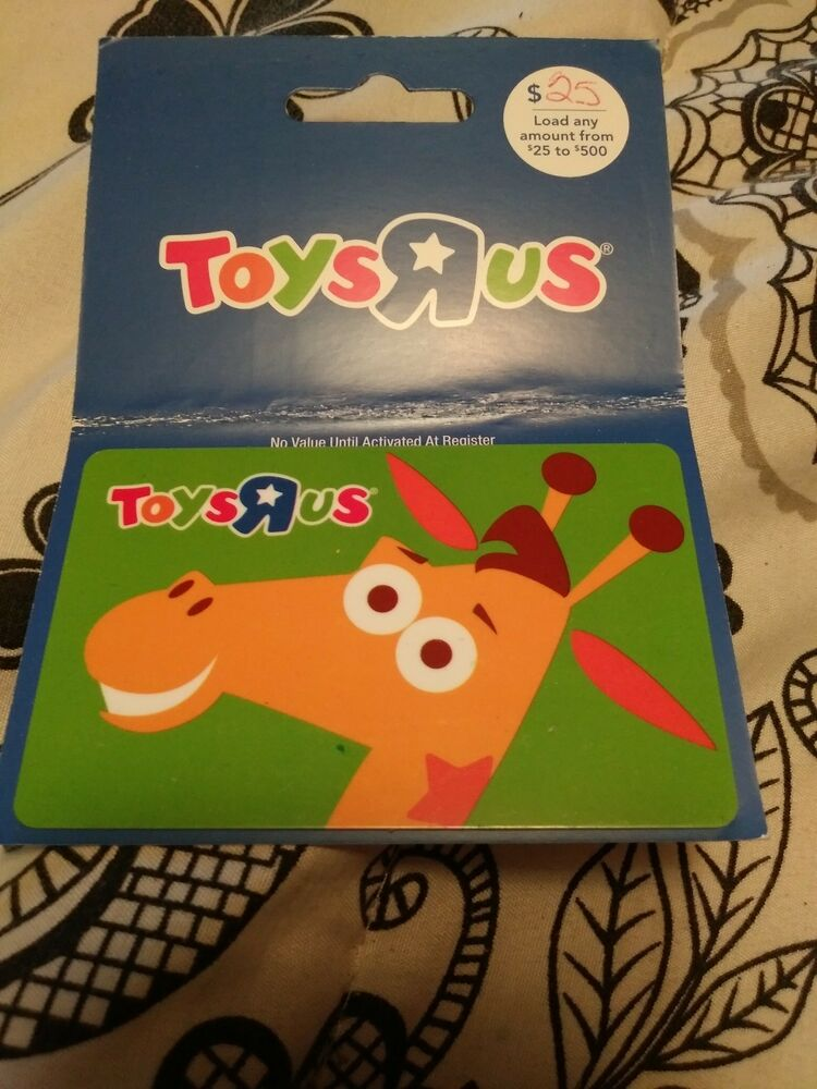 Toys R Us Gift Card Lot Of 2 Different Cards Collectible No