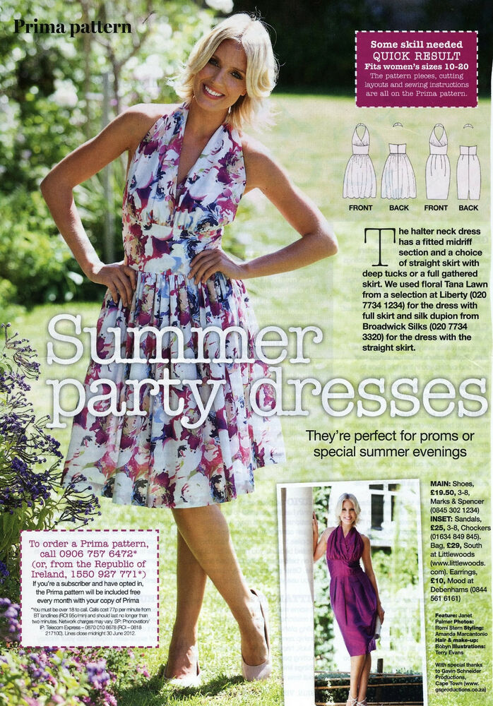 Unique Prima Sewing Patterns Images - Sewing Pattern Dress Ideas ...