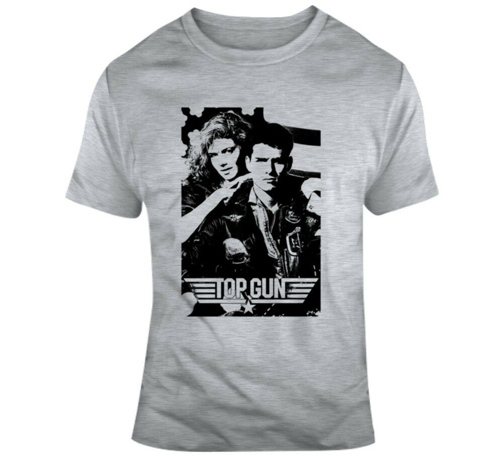ae83e36be Details about Top Gun Tom Cruise Usa Navy Movie 80s Fan T Shirt