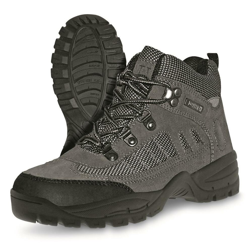 bedc318d28696b Details about ITASCA Men's Amazon Waterproof Hiking Boots Grey Gray Size 8