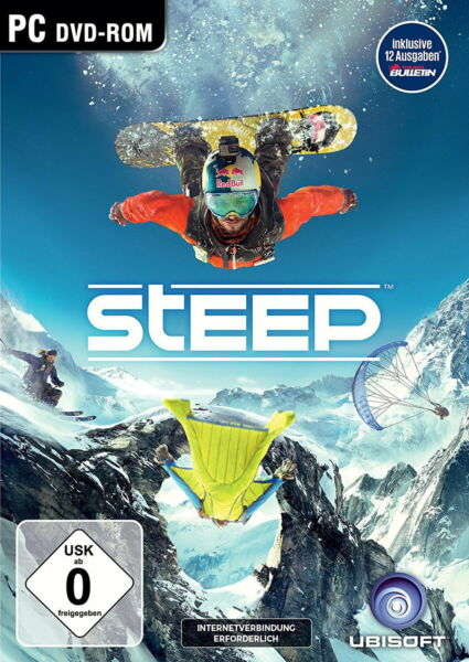 Steep / Uplay PC Download Key DE EU / SOFORTVERSAND