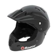 Razor - Kids Helmet -Full Face Youth Teen Safety Full Protection -Padded -Black