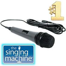 Dynamic Microphone Singing Machine SMM-205 Unidirectional with 10 Ft. Cord