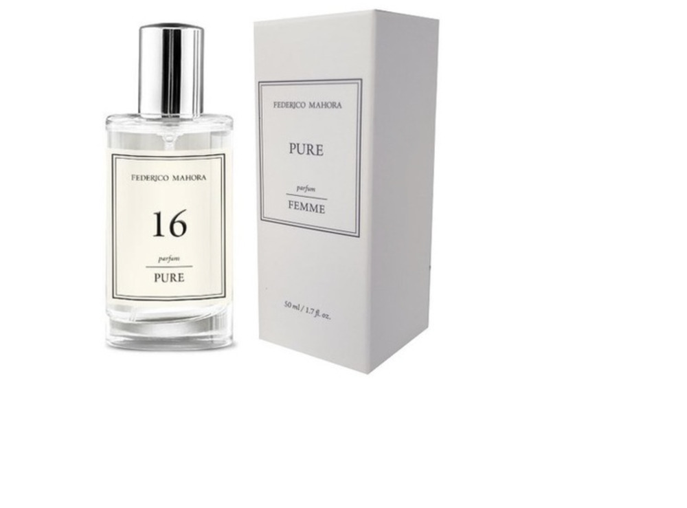 ded38ef04 Details about 16 – PURE PARFUM FOR HER 50 ML FM Federico Mahora